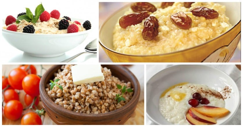 The most useful for health porridge: Top 3