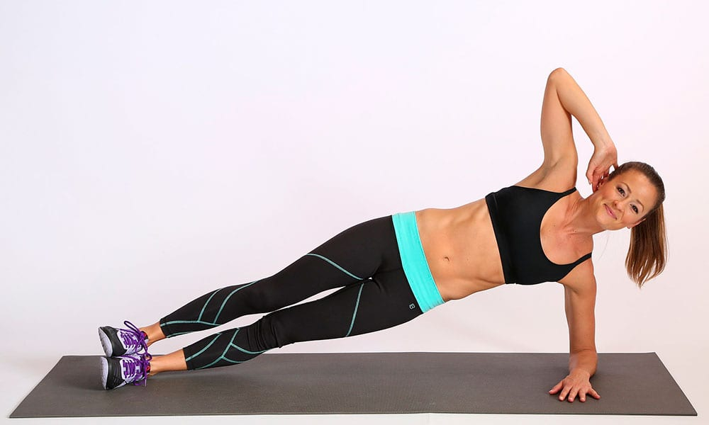 How to get rid of fat at the waist: home workouts