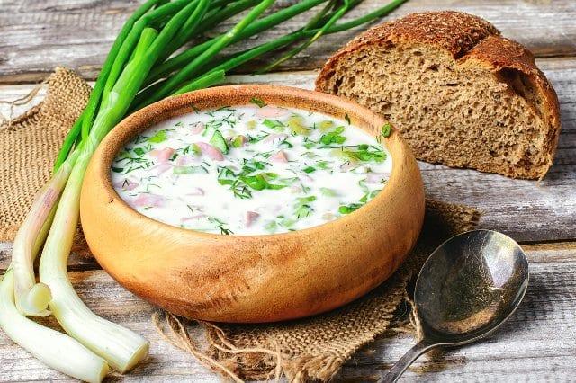 Dietary okroshka