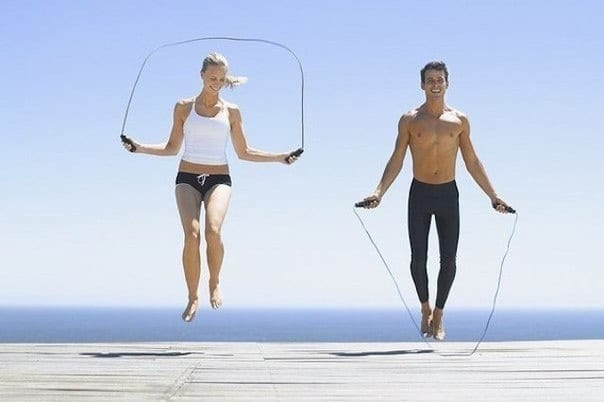 Jump Rope is more effective than running for weight loss