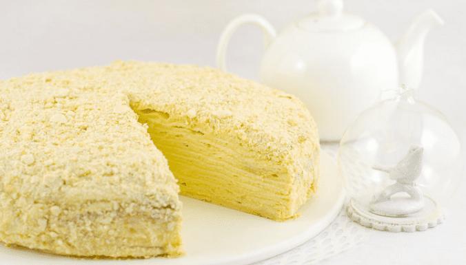 Dietary Napoleon with lavash