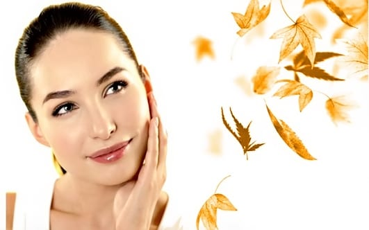 Secrets of autumn skin care