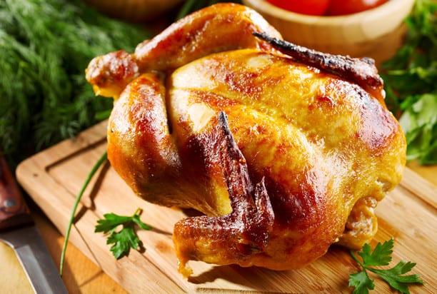 Provencal chicken in garlic