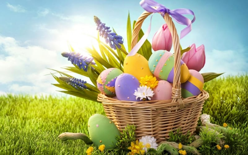 Prohibited products in the Easter basket