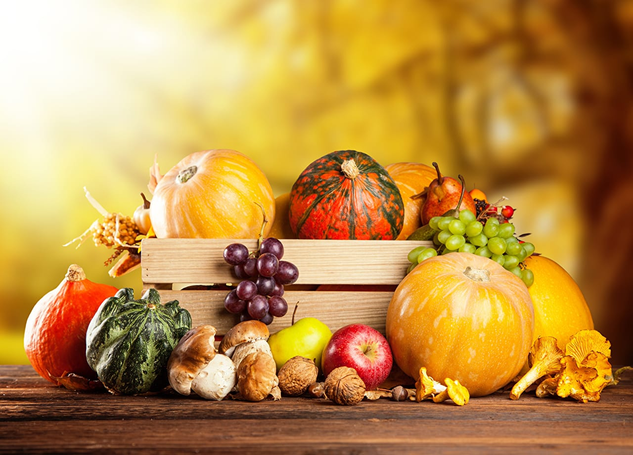 Useful products in the fall: what to include in the diet?