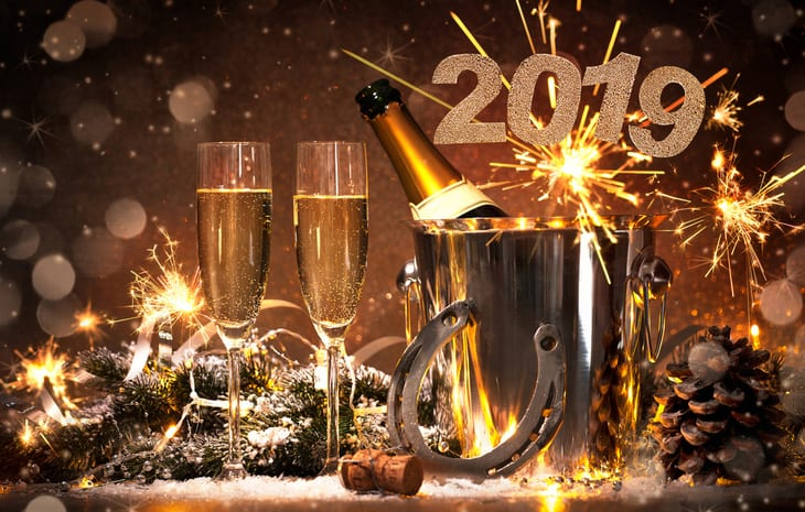 How better to celebrate New Year 2019?